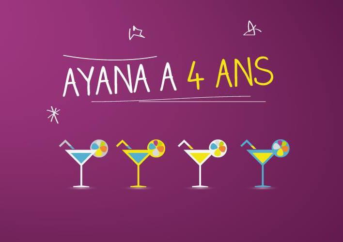 Ayana a 4 ans!