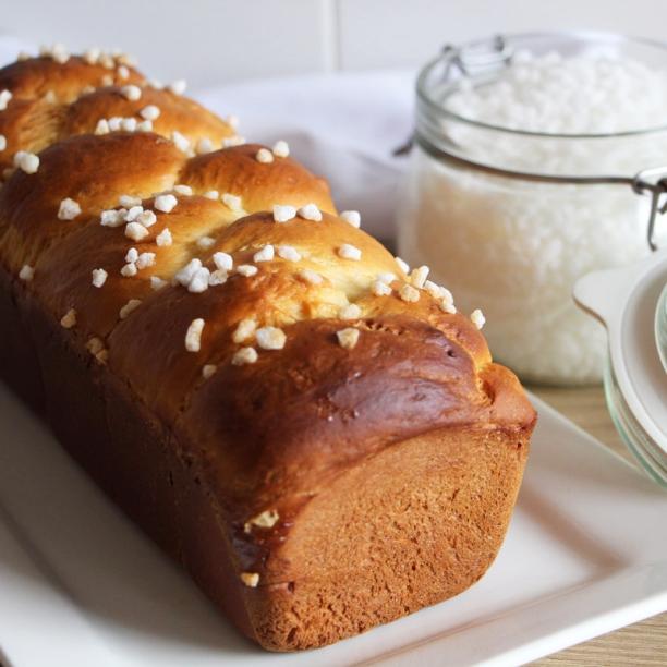 [Food] Brioche tressée (sans beurre!)