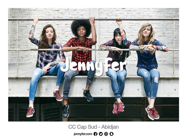 [Mode] Jennyfer s'installe en Côte d'Ivoire