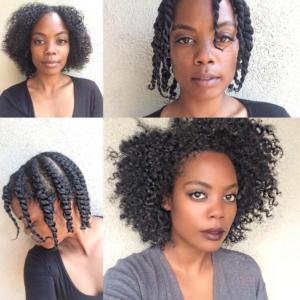 Jeune Beauté] 10 idées coiffures pour Nappy TC-78