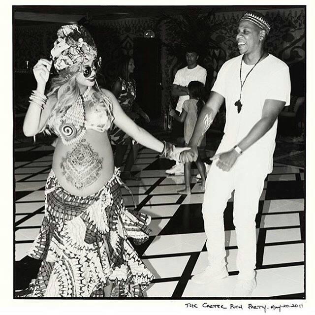 """[ People ] Beyonce : Sa """"Push Party"""" aux couleurs de l'Afrique"""