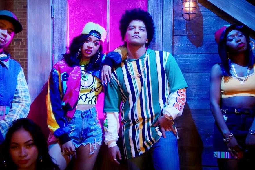 """[Musique] A voir: """"Finesse Remix"""", le nouveau clip de Bruno Mars feat Cardi B"""