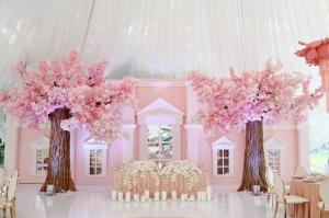plusbelles décorations de salles de mariage