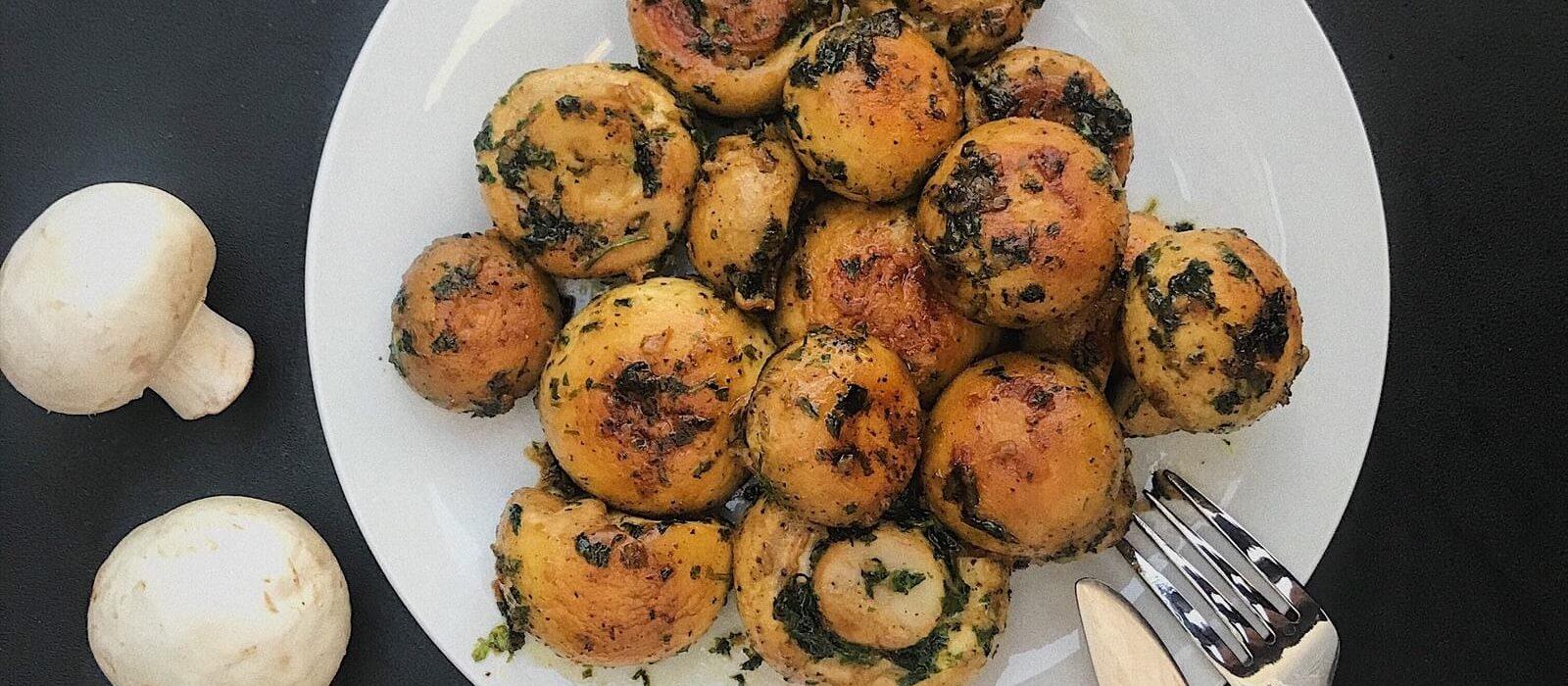 [Food] Champignons au Beurre et au Persil par Sinaba