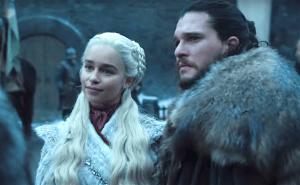 Jon Snow et Daenerys Targaryen. Photo du trailer de la saison 8 de Game Of Thrones