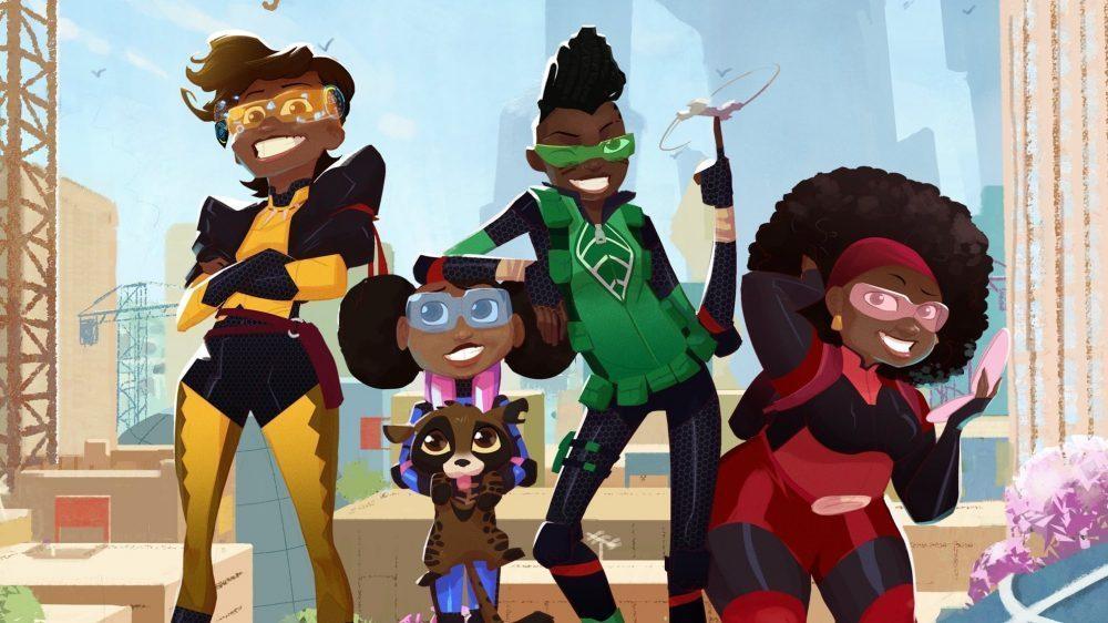 [Télé] Mama K's Team 4, la première série animée made in Africa sur Netflix